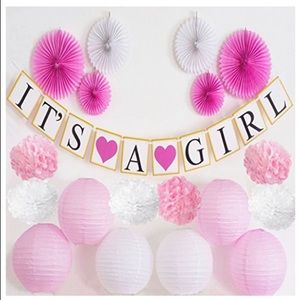 Other - It's A Girl - Baby Shower Decorations